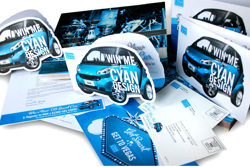 Cyan Smart Car Promo
